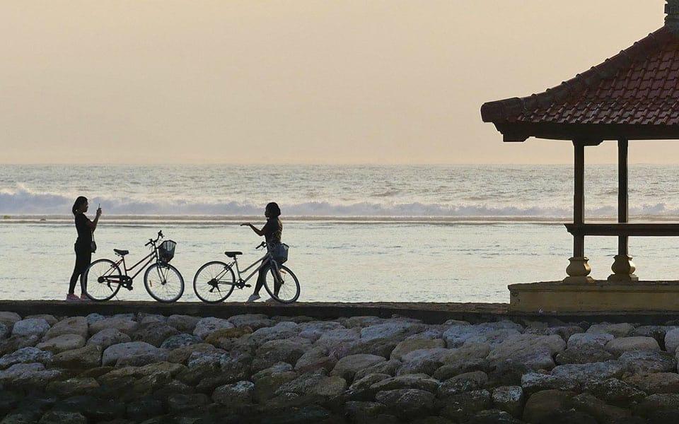 Sanur promenade, Bali