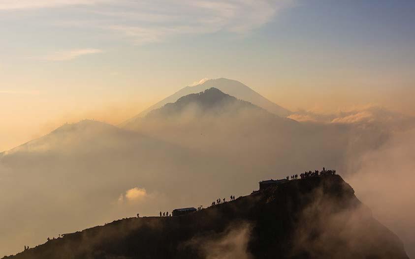 Mount Batur volcano trekking, Bali