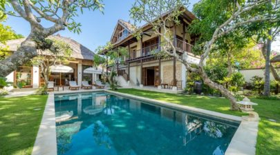 Private pool of Villa Yasmine in Jimbaran Bali
