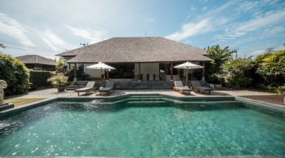 Private pool of Villa Marcus in Cemagi, Bali
