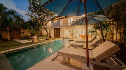 Private pool of Villa Swarna in Seminyak, Bali