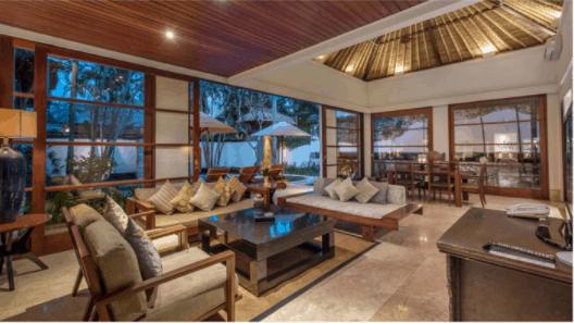 Living Room of Villa Senada in Jimbaran
