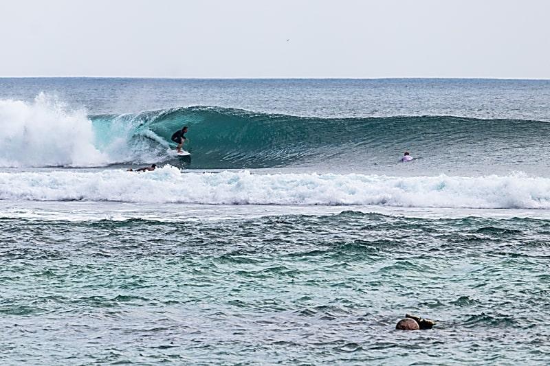 Reasons to Return To Bali - Surfing at Padang Padang